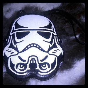 Star wars zipper coin purse with wristlet